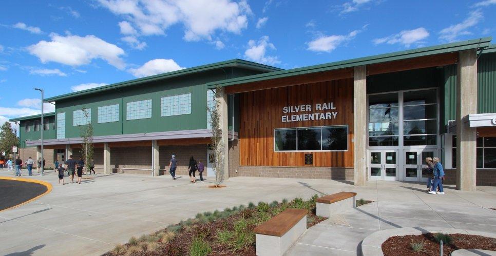 Silver Rail Elementary - entrance