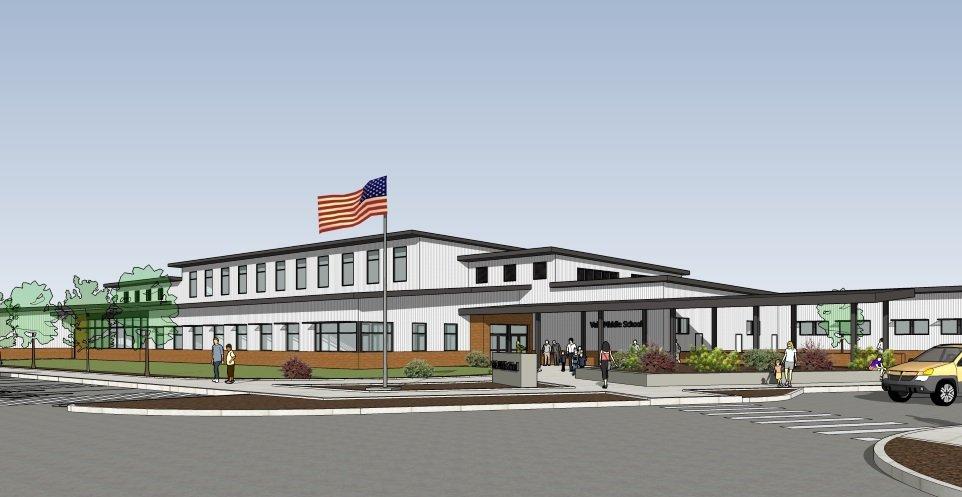 Vale High School - rendering