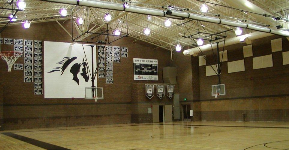 Sisters High School - gym